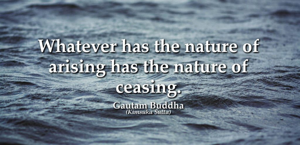 buddha quote on water change