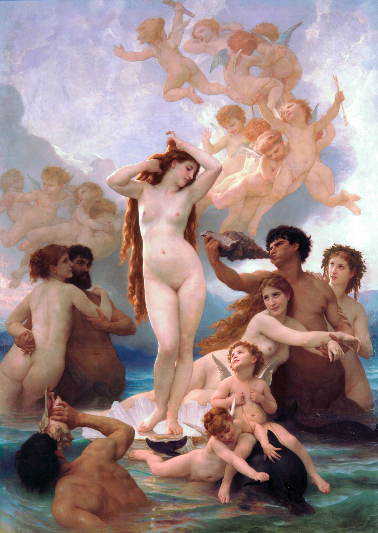 The Birth of Venus by Bourgerou