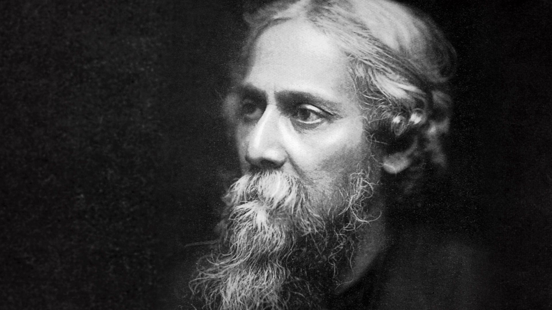 The bengali poet Rabindranath Tagore