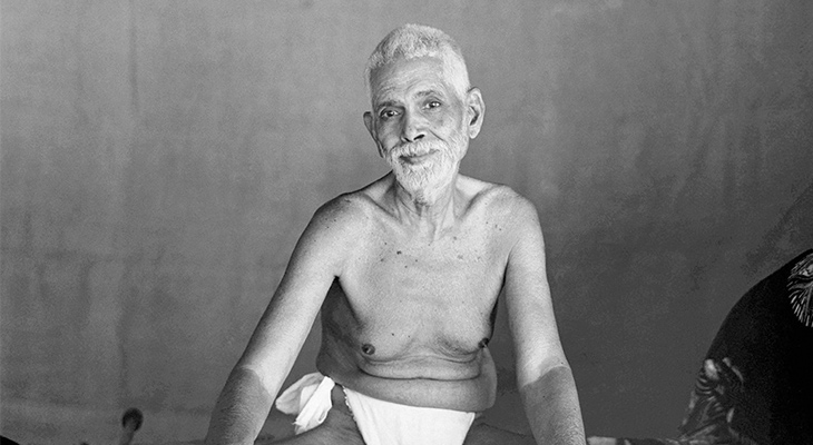 Who was Ramana Maharshi?