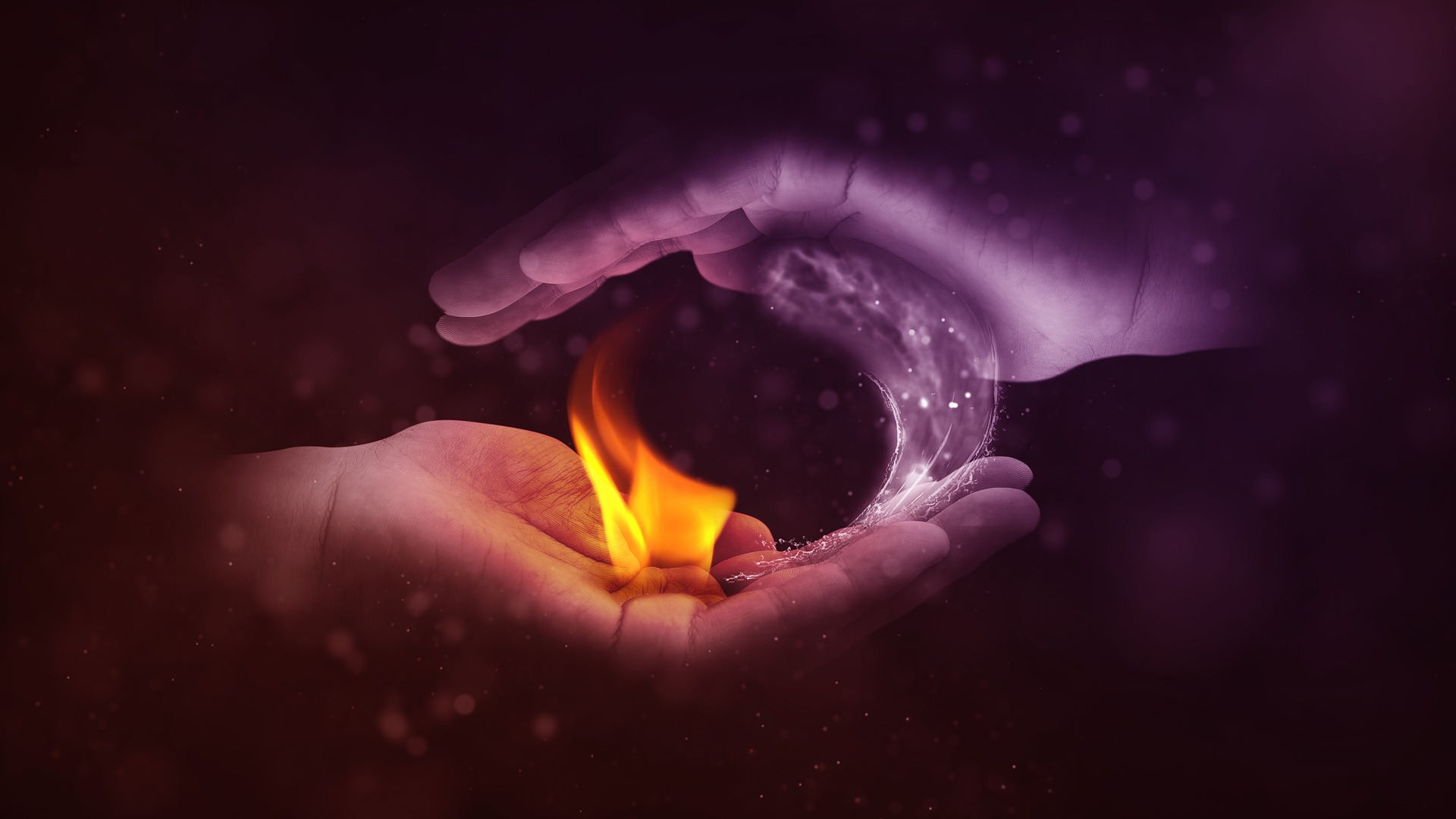 Yin Yang and the Four Elements
