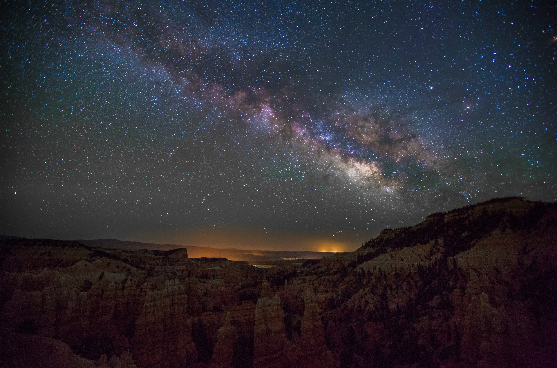 Canyons, Stars and Space
