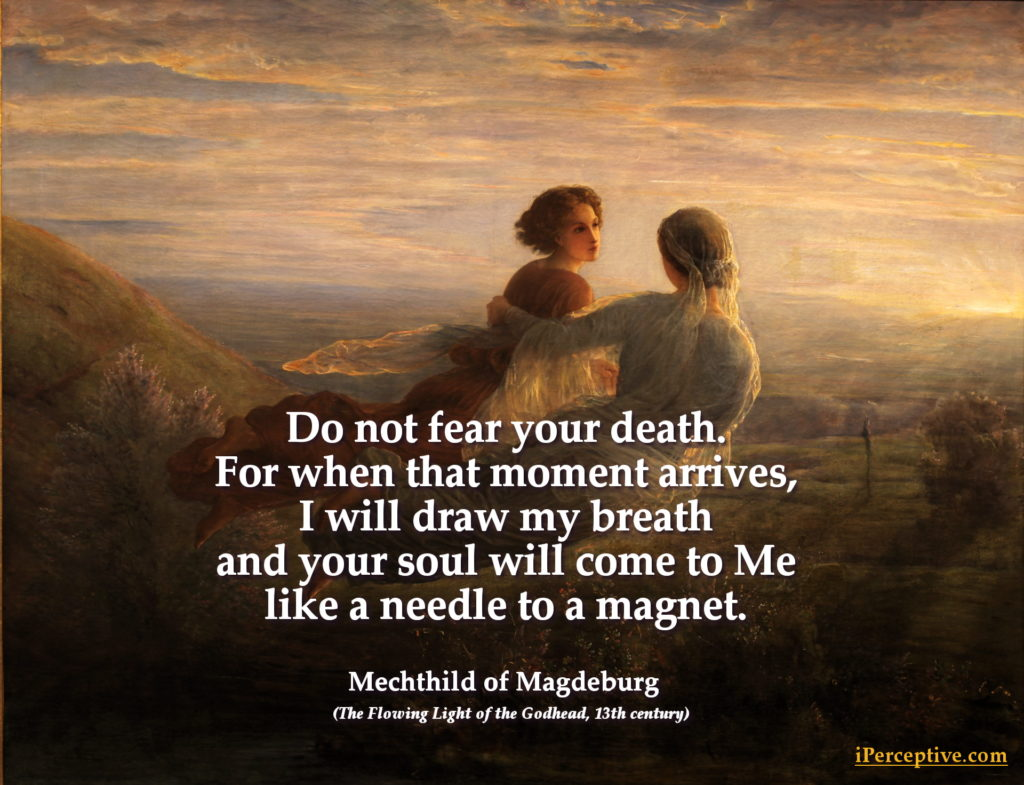 Mechthild of Magdeburg Quote on Death
