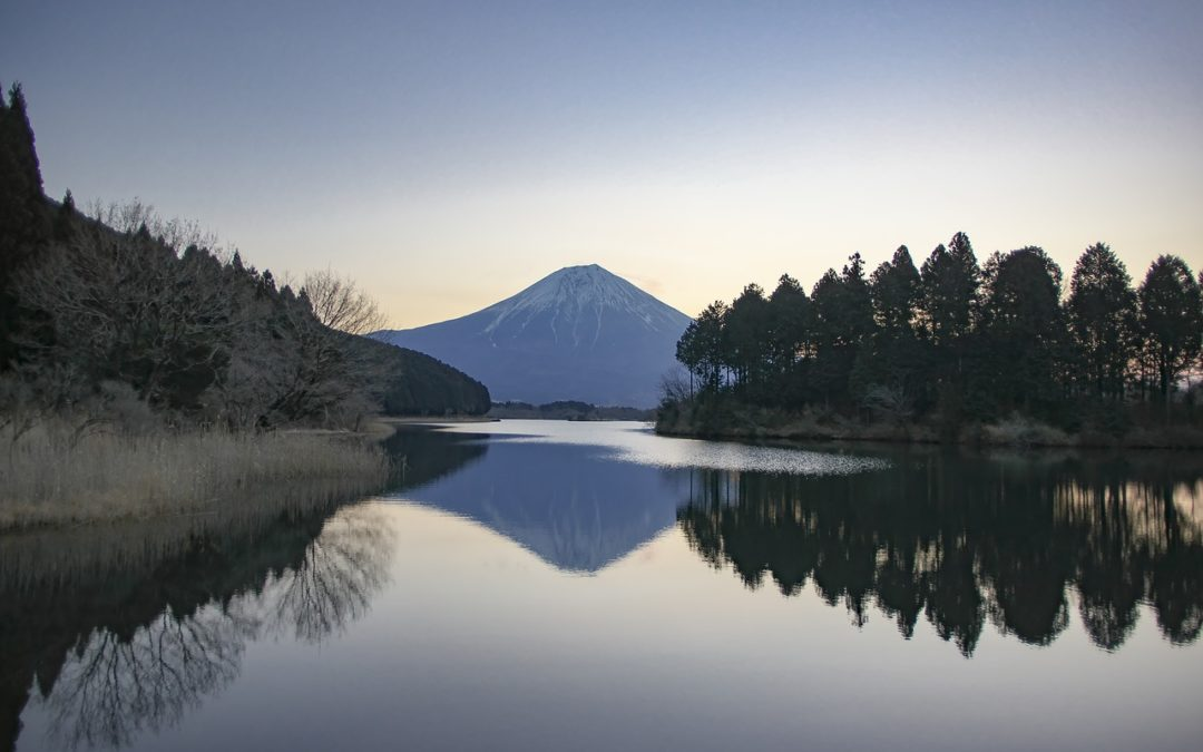 Mt fuji silence lake