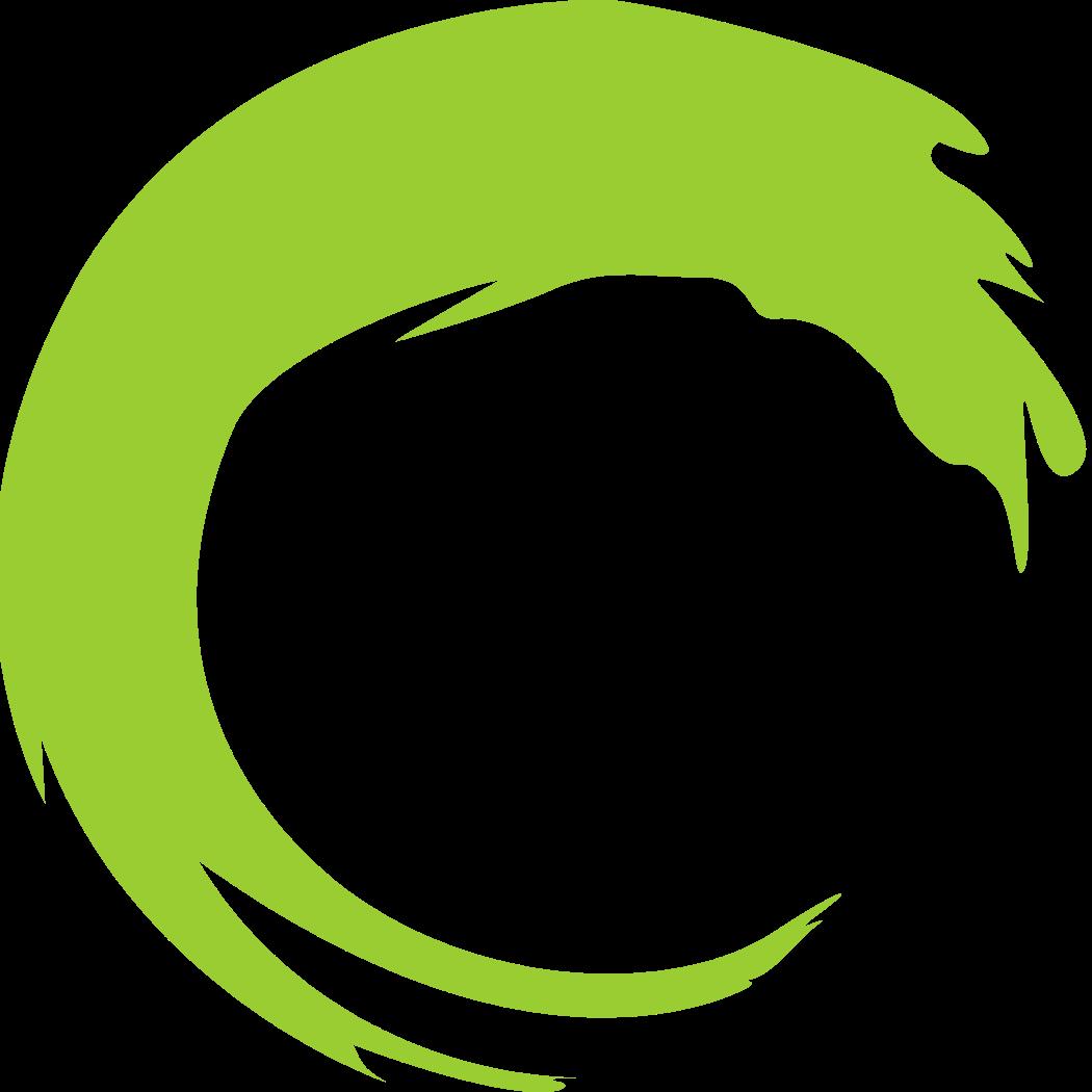 zen brush circle