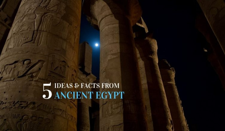 ancient egyptian facts and ideas