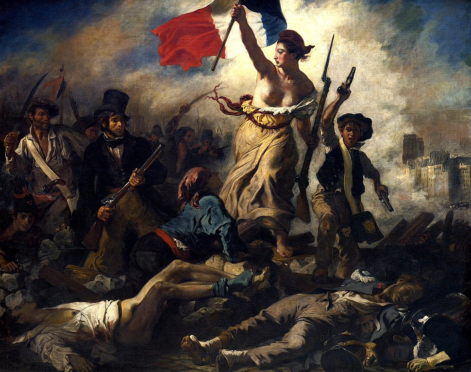 Liberty leading the people France
