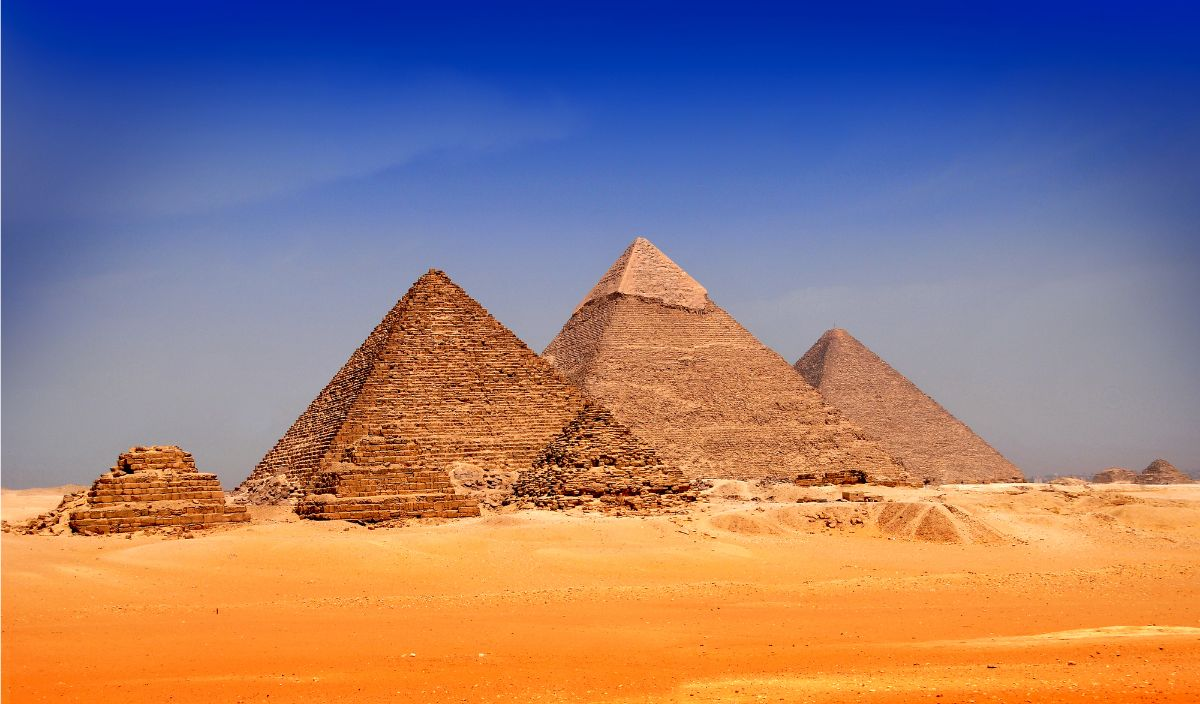 Pyramids of Giza Egypt
