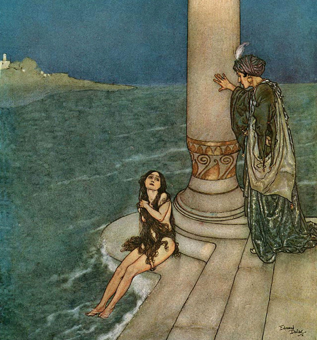 Edmund dulac the little mermaid