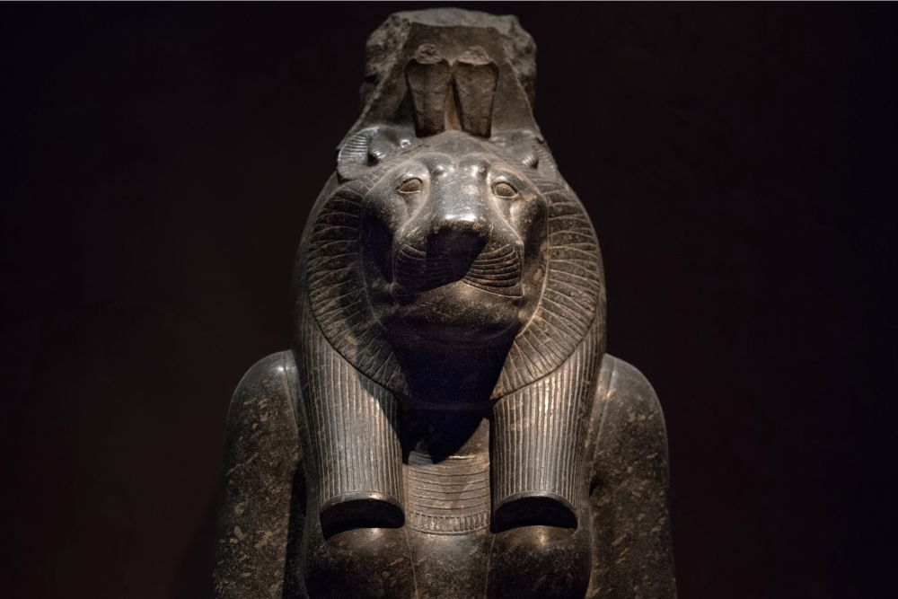 Sekhmet the egyptian war goddess