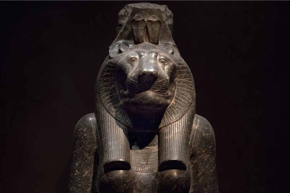 Sekhmet the egyptian war goddess
