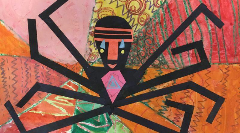 Anansi the trickster spider (african mythology)