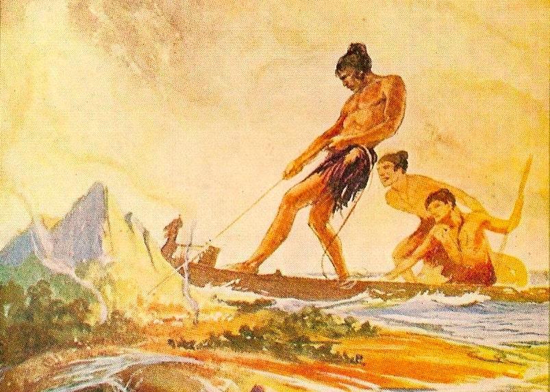 Maui hooks up island