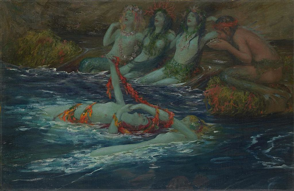 Mermaids dancing
