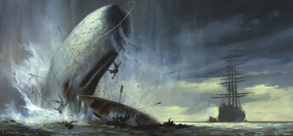 Moby Dick by Paul Lasaine
