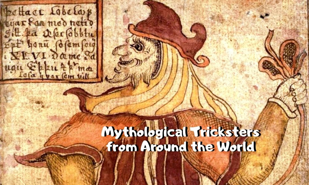 9 Mythological Tricksters from Around the World