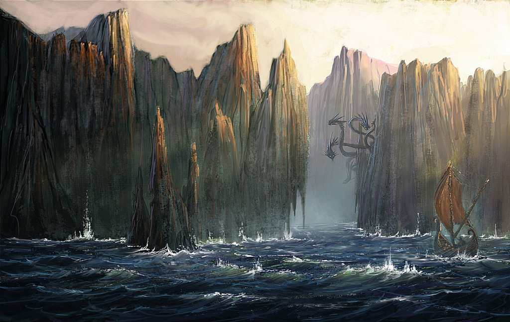 Scylla and charybdis ship