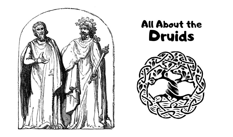 The druids and the tree of life symbol