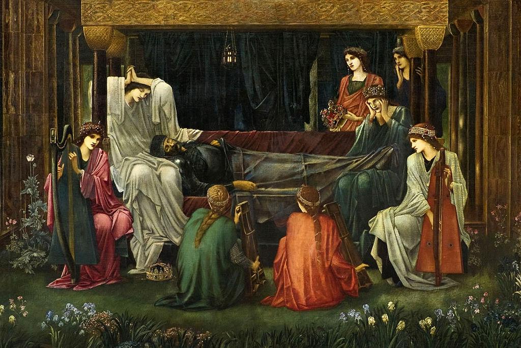 The Last Sleep of Arthur in Avalon by Edward Burne