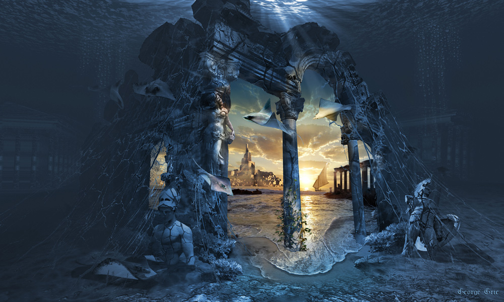 Lost City of Atlantis by George Grie