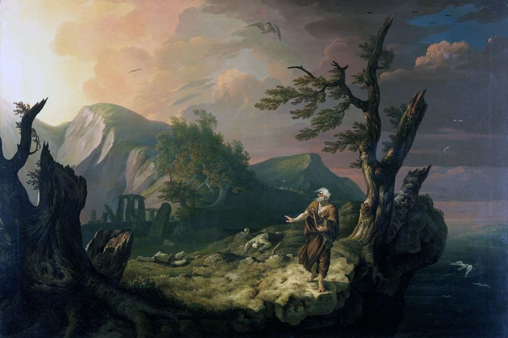 The bard or druid (painting)