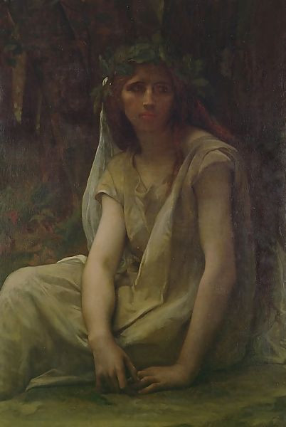 The druidess by Alexandre Cabanel
