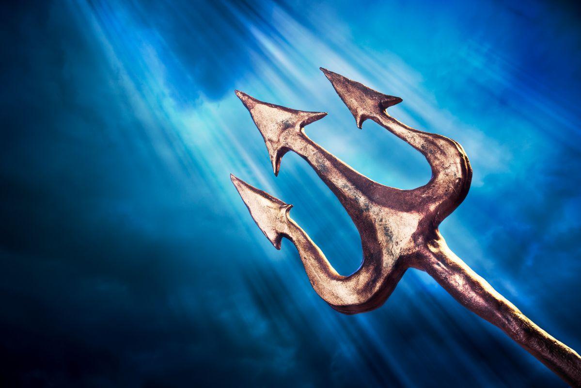 The Legendary Trident of Poseidon