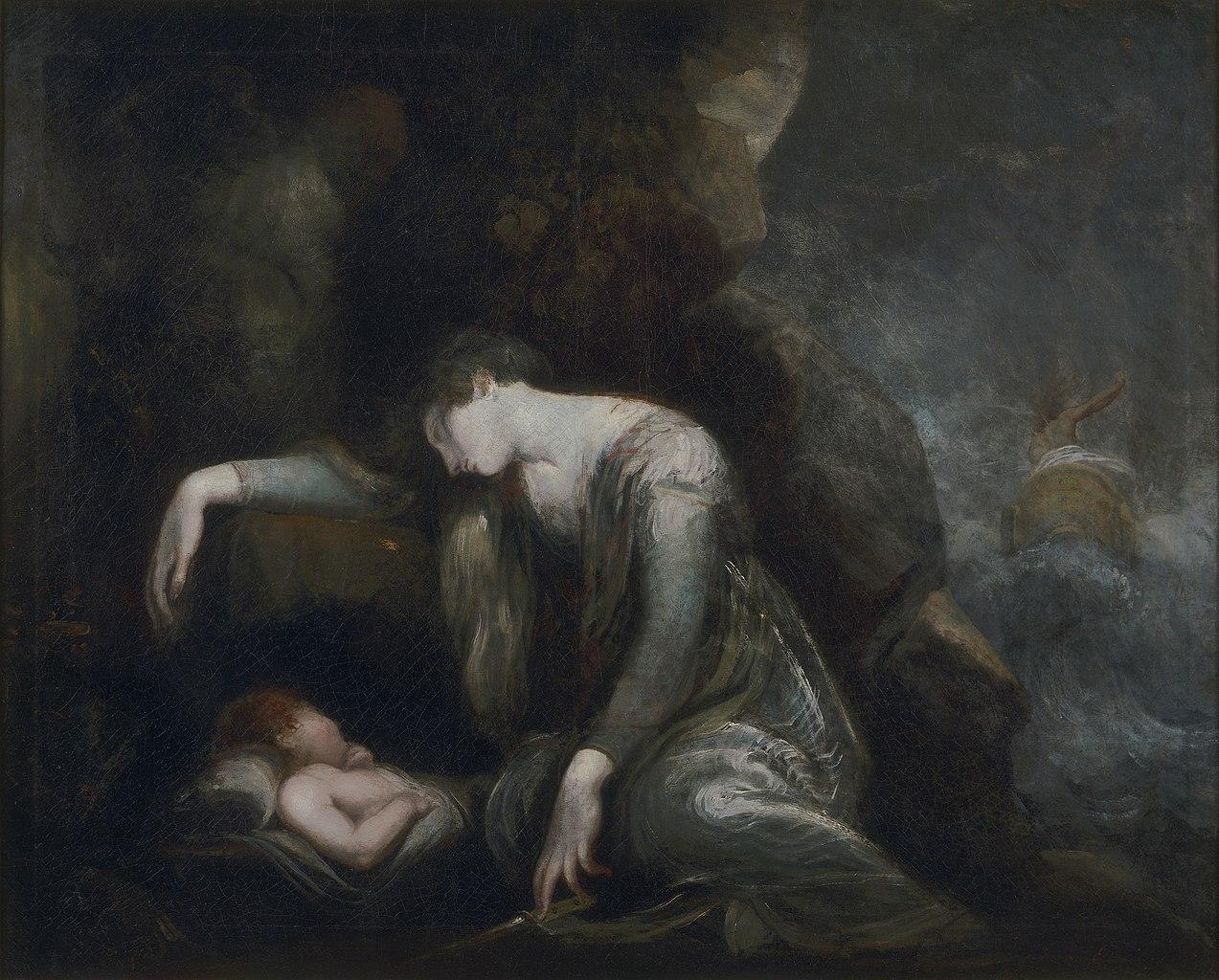 Danae and Perseus on Seriphos