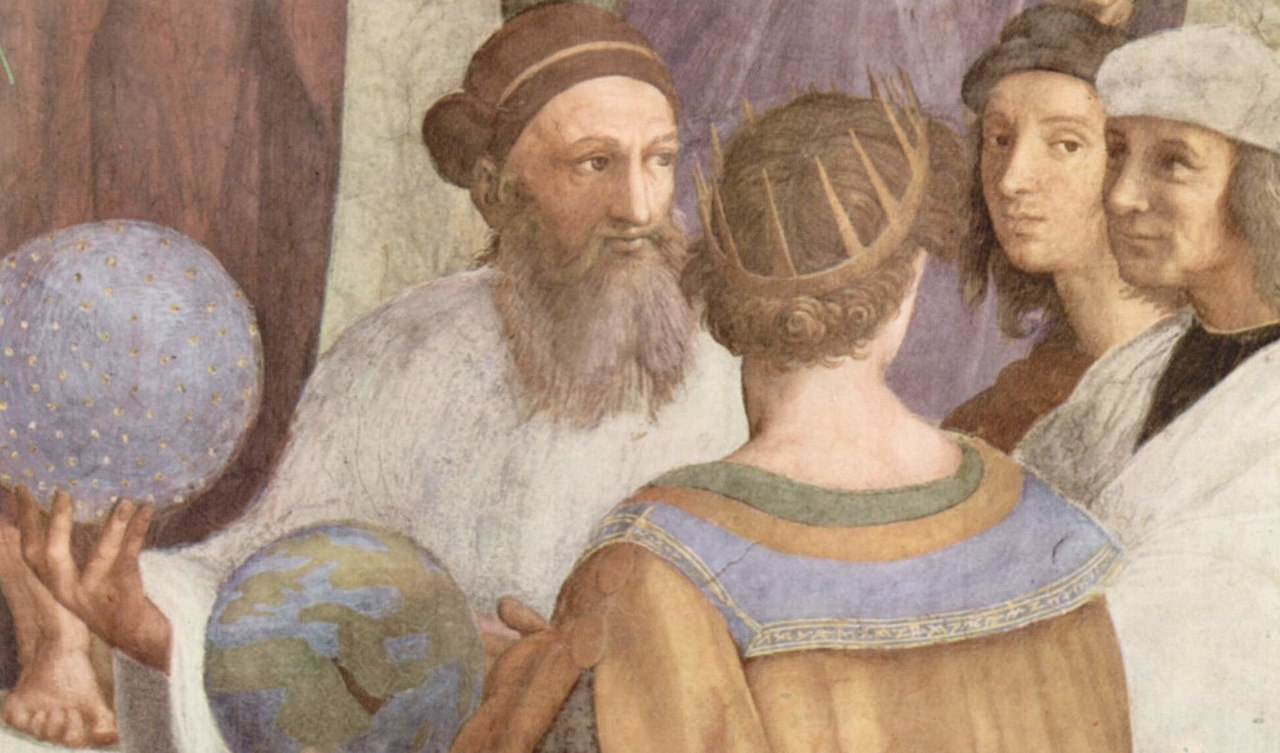 Zoroaster in 'The School of Athens' by Raphael