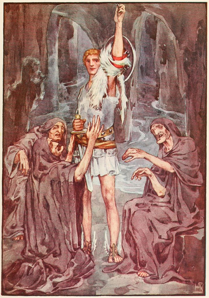 Perseus and the three Grenae