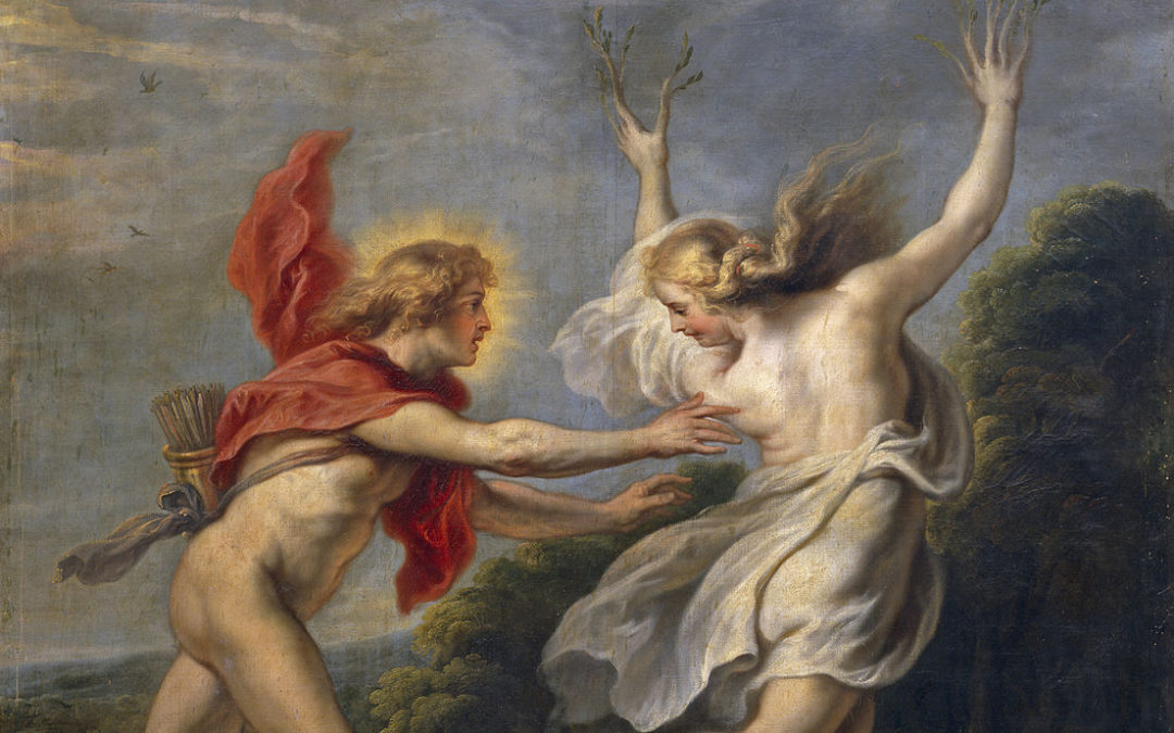 The Story of Apollo's Lust for Daphne