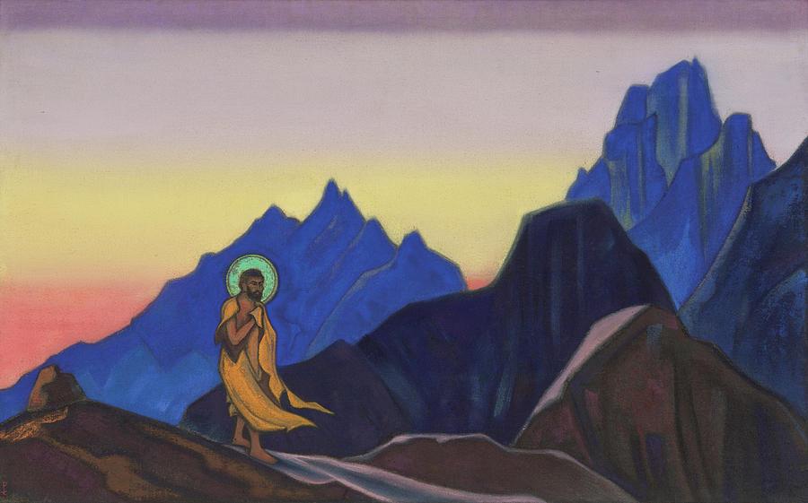 Bhagavan by Nicholas Roerich