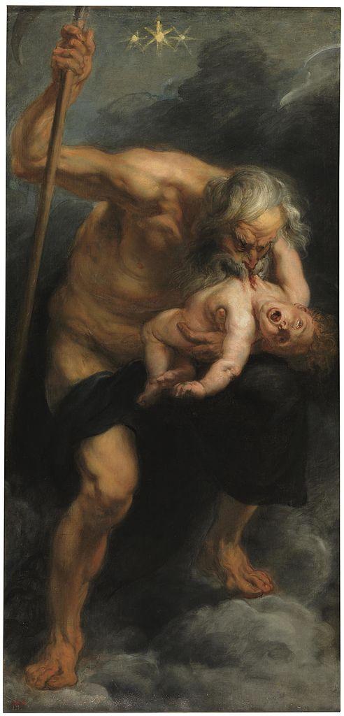 Saturnus by Peter Paul Rubens (1636)