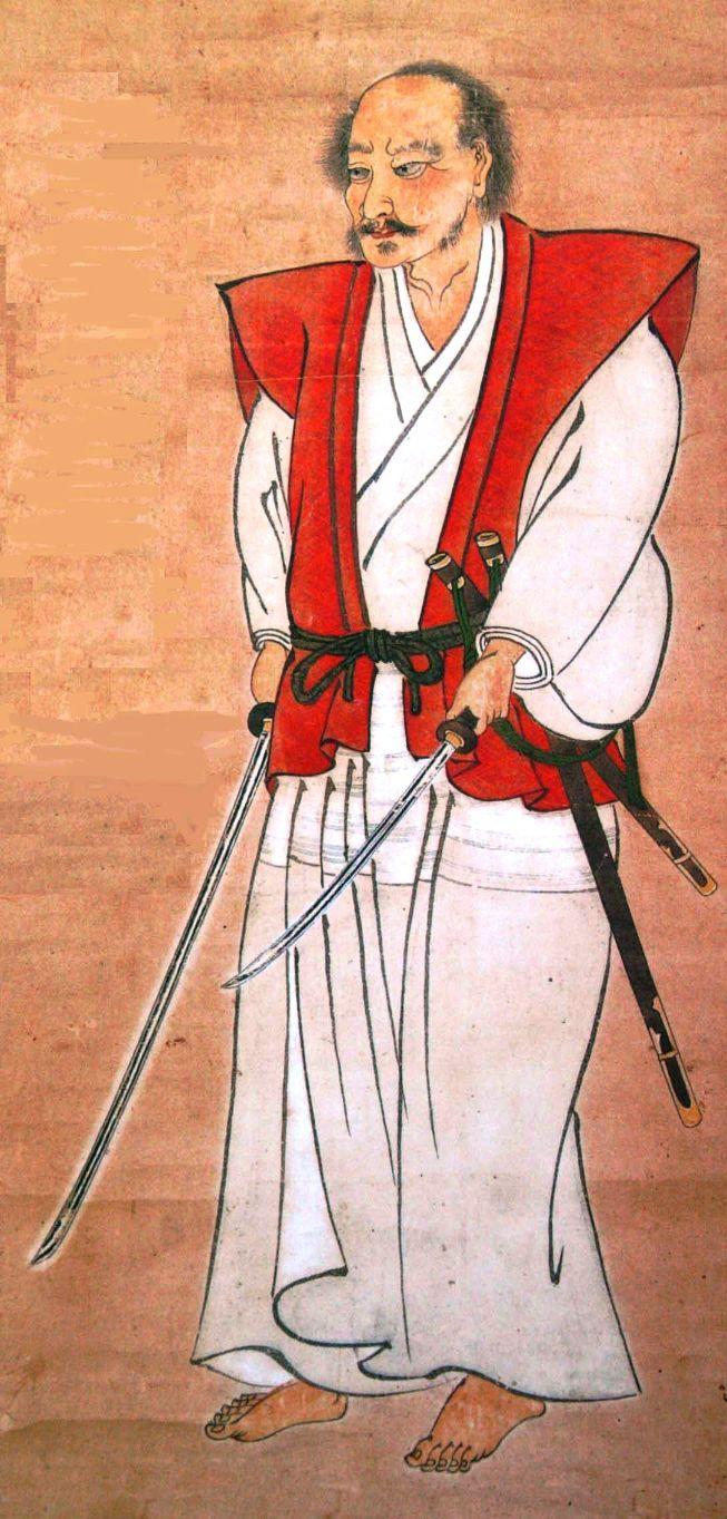 self portrait of miyamoto musashi
