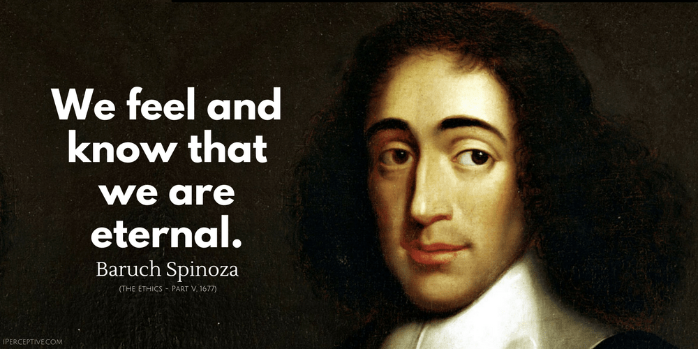 Spinoza quote