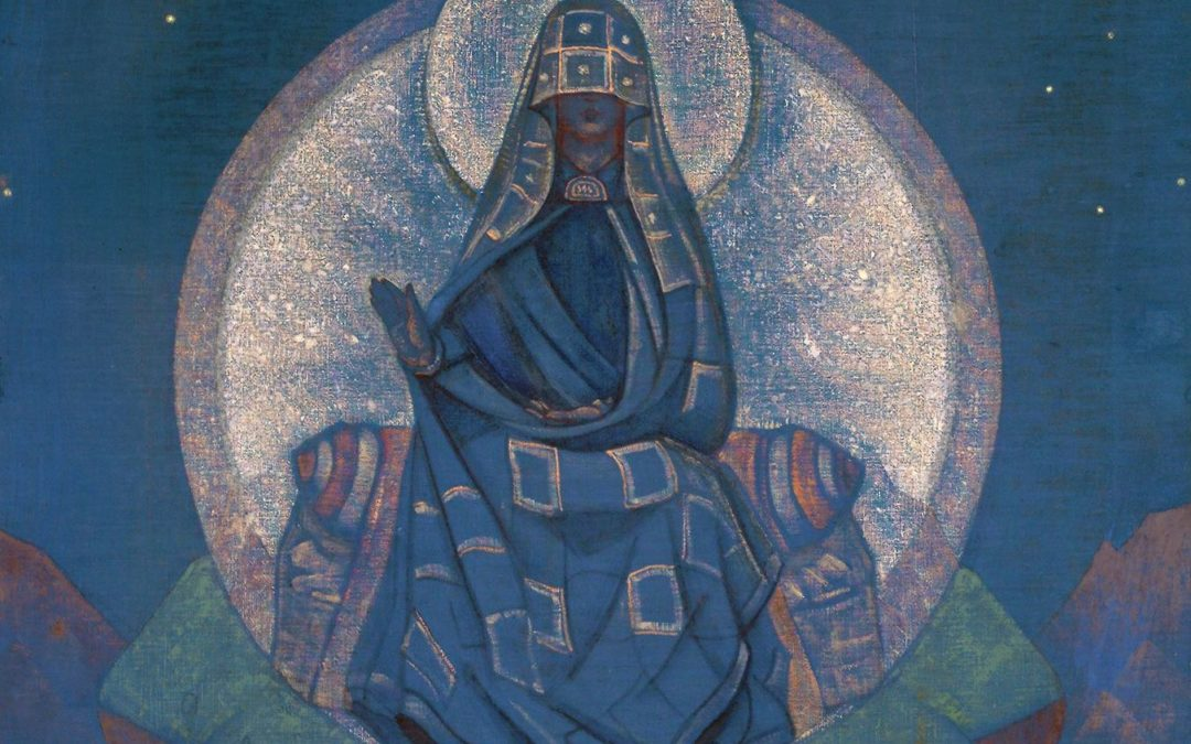 "Mother of the World"" - Nicholas Roerich"