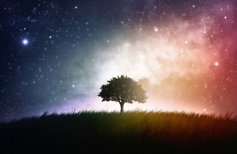 The world nourishes bodies, the spirit nourishes souls.