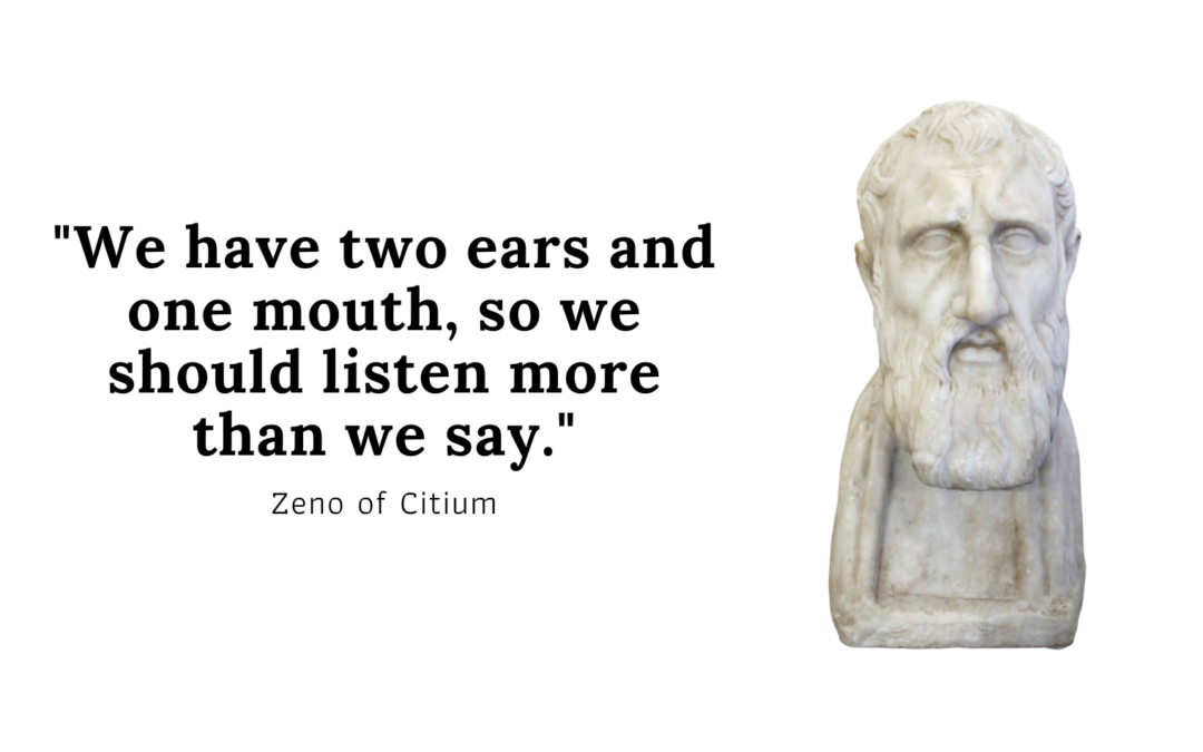 Zeno of citium quote
