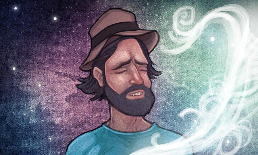 Duncan Trussell art by staranger art